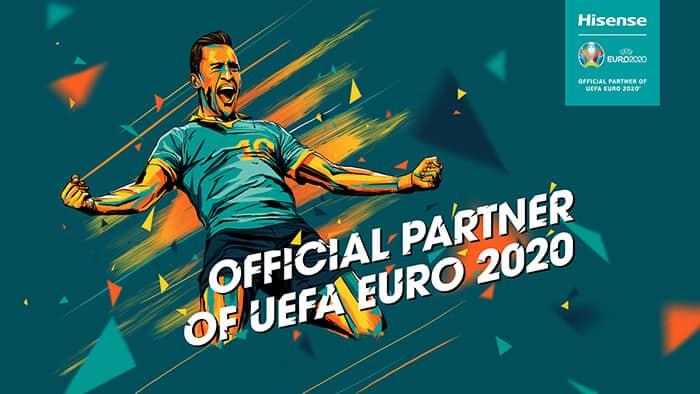 Hisense UEFA 2020 szponzor